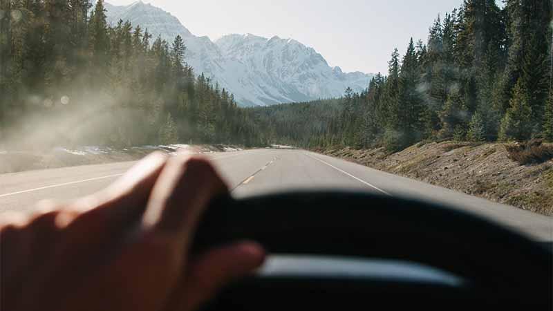 Athabasca Glacier Kanada - Fortbewegung mit dem Auto