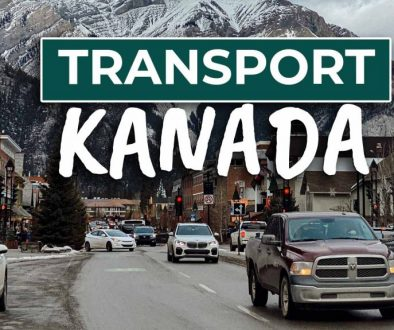 Fortbewegung in Kanada (Auto, Bus, Bahn, Inlandsflüge
