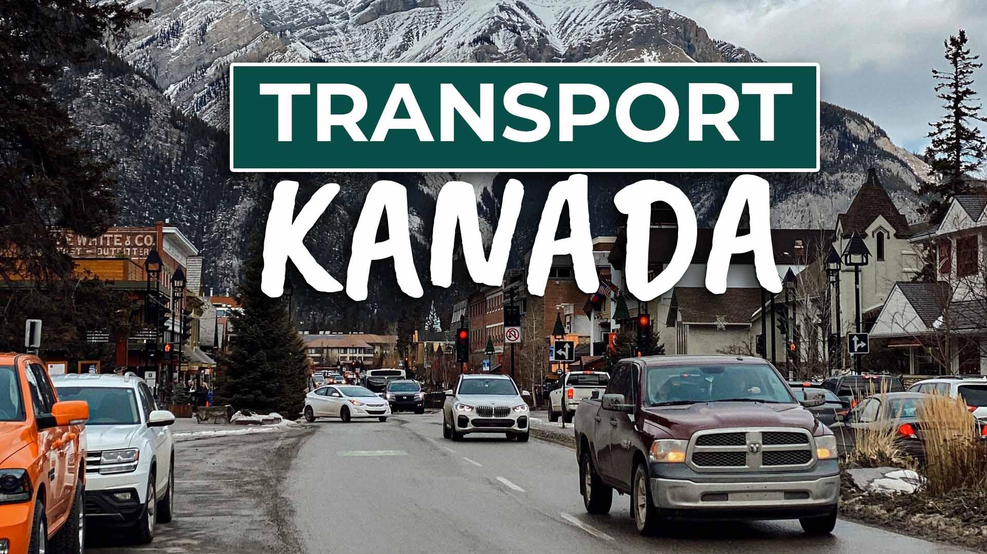 Fortbewegung in Kanada (Auto, Bus, Bahn, Inlandsflüge…)