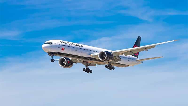 Mit Air Canada als Inlandsflug durch Kanada