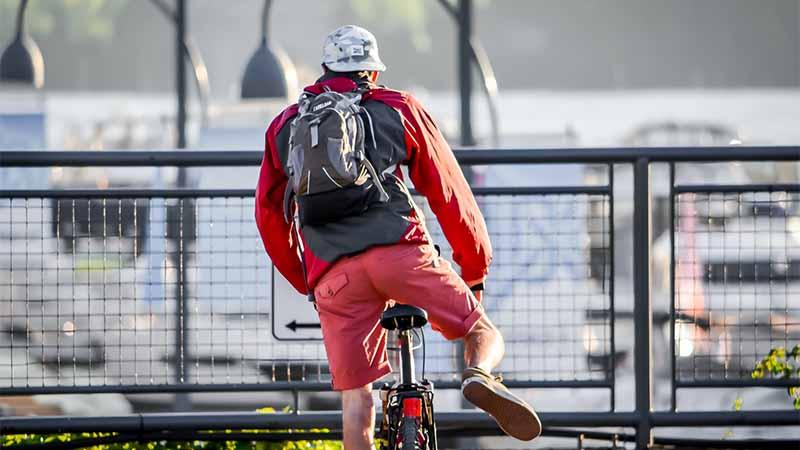 Mit dem Fahrrad durch Kanada und Nord Amerika