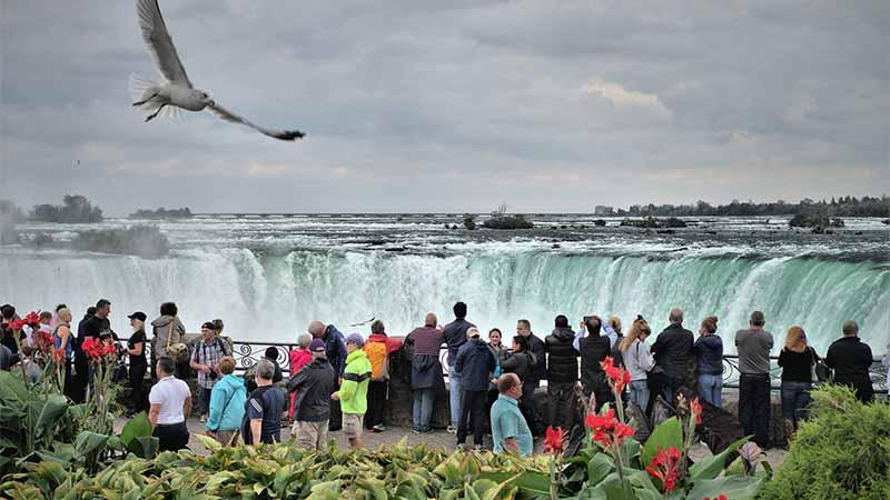 Als Tourist in Kanada - Niagarafälle