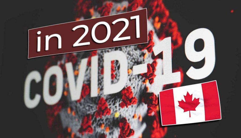 Work and Travel Kanada Coronavirus Covid-19 in 2021 - Cover