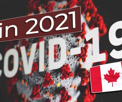Work and Travel Kanada Coronavirus Covid-19 in 2021 - Cover