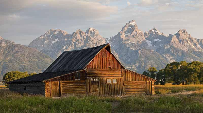 Wunderschönes Holz Farmhaus in Kanada